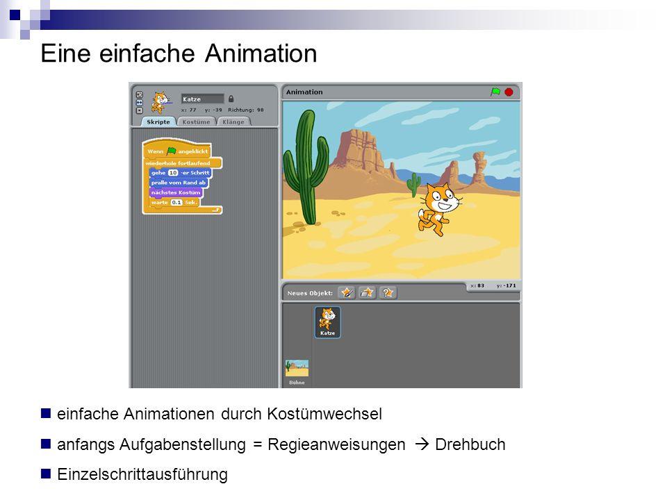 Eine einfache Animation