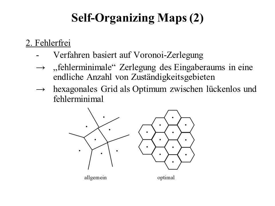 Self-Organizing Maps (2)