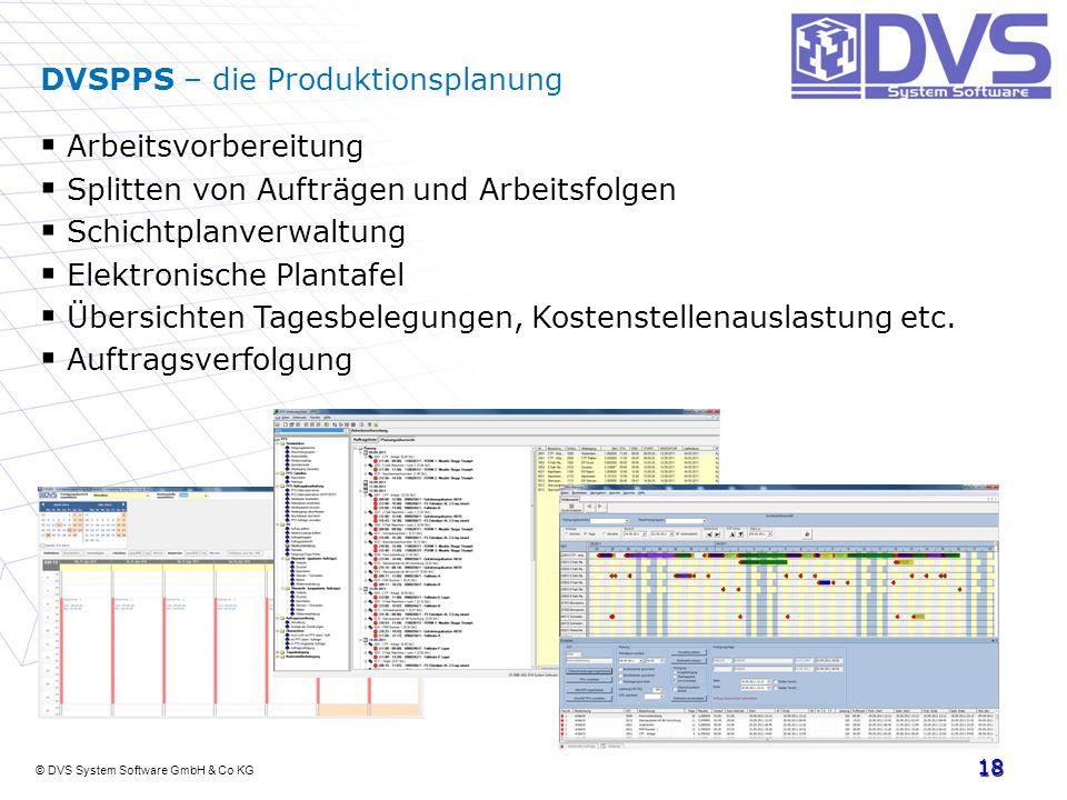 DVSPPS – die Produktionsplanung