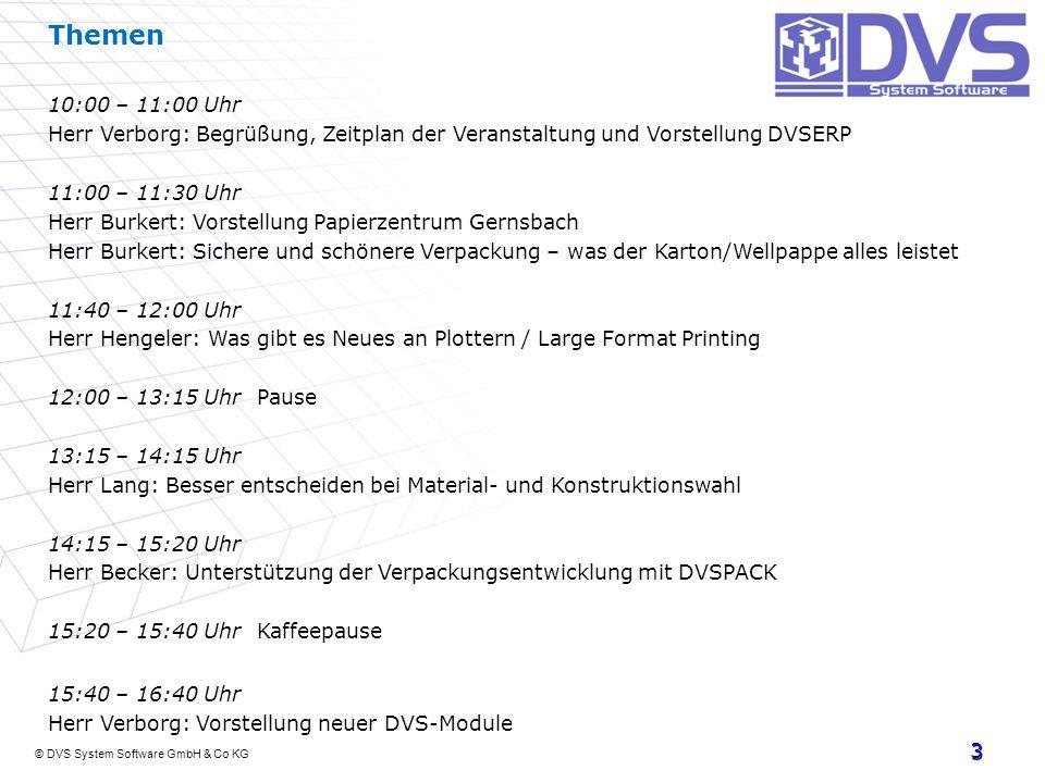 Themen 10:00 – 11:00 Uhr. Herr Verborg: Begrüßung, Zeitplan der Veranstaltung und Vorstellung DVSERP.