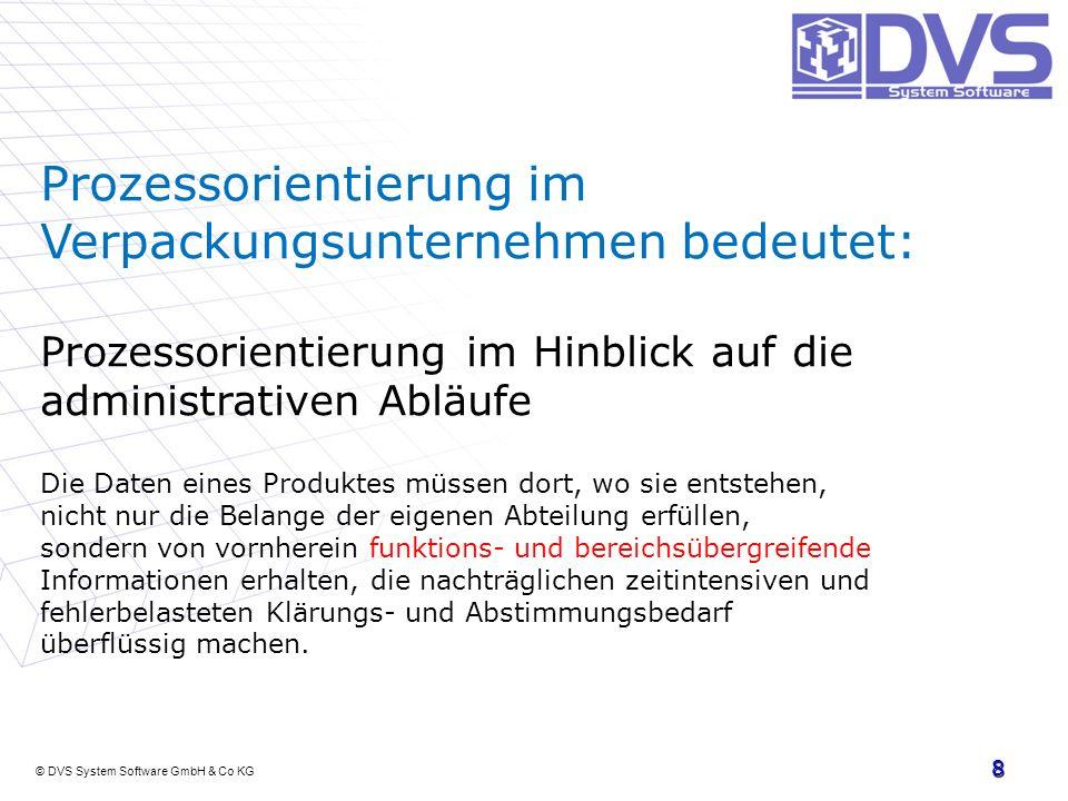 Prozessorientierung im Verpackungsunternehmen bedeutet: