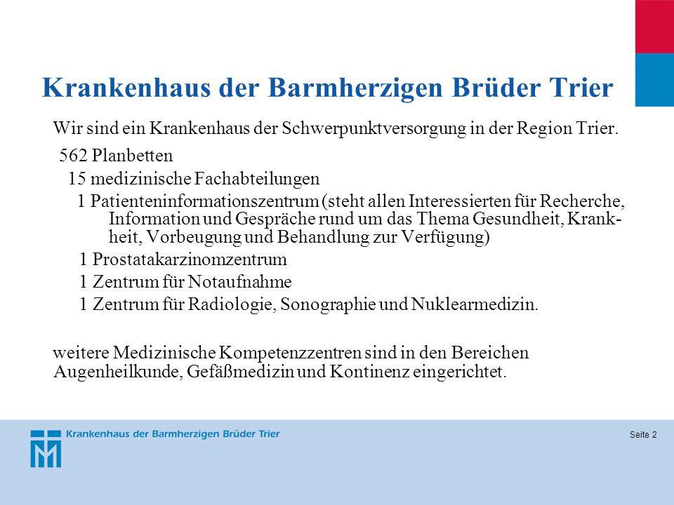 Krankenhaus der Barmherzigen Brüder Trier