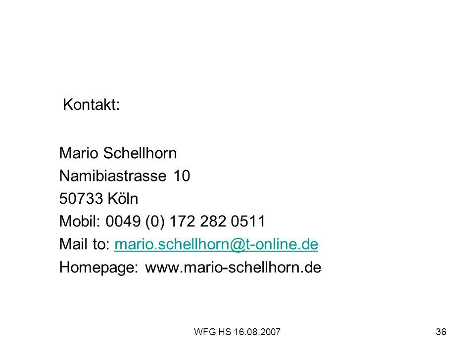 Mail to: mario.schellhorn@t-online.de