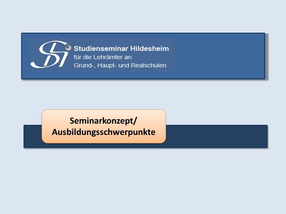 Seminarkonzept/ Ausbildungsschwerpunkte