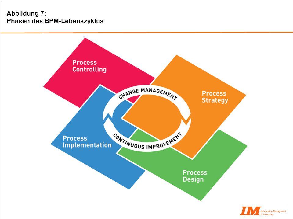 Abbildung 7: Phasen des BPM-Lebenszyklus