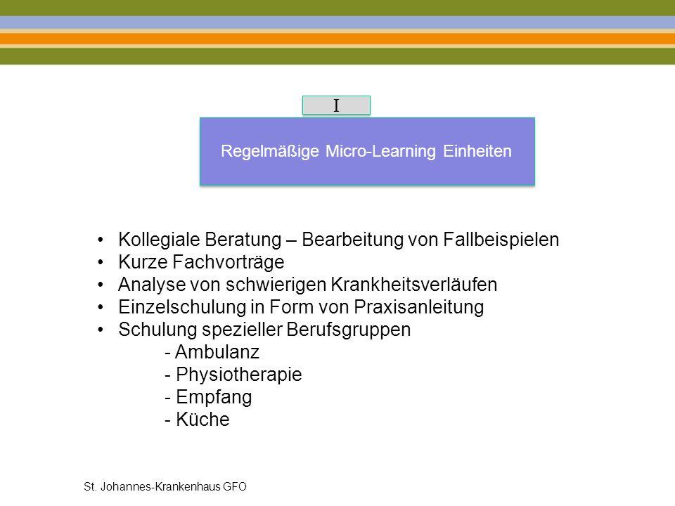 Regelmäßige Micro-Learning Einheiten