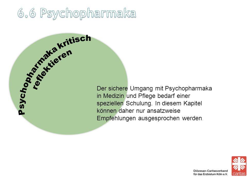 Psychopharmaka kritisch