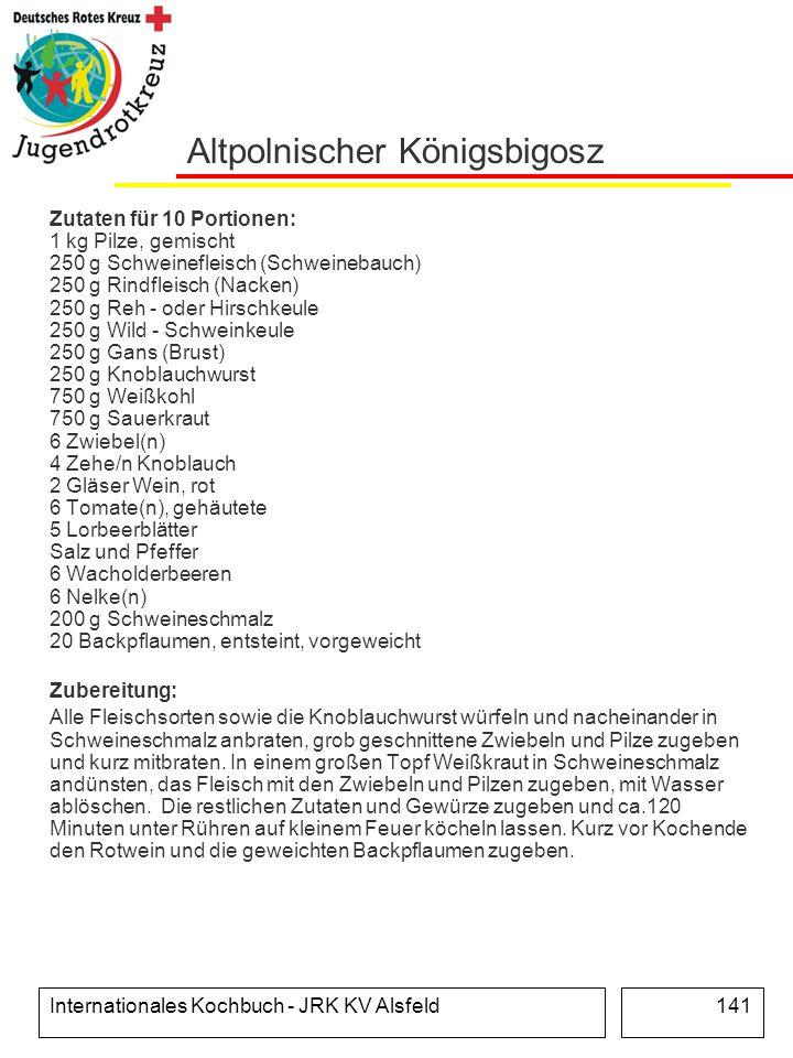 Altpolnischer Königsbigosz
