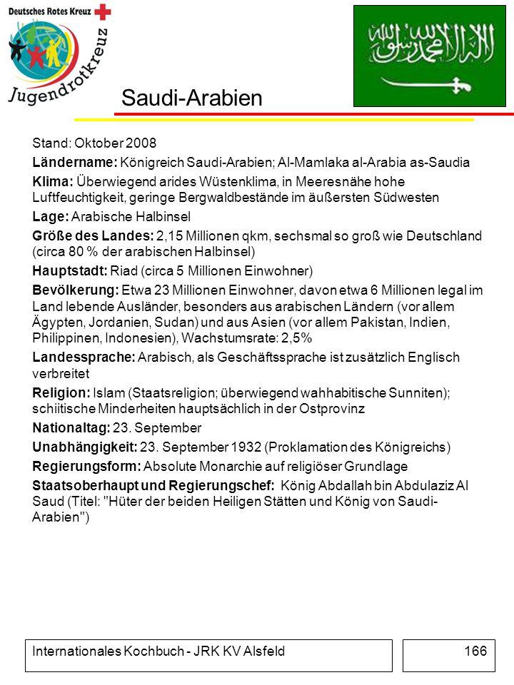 Saudi-Arabien Stand: Oktober 2008