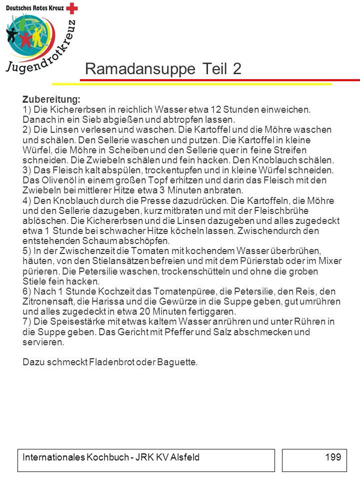 Ramadansuppe Teil 2