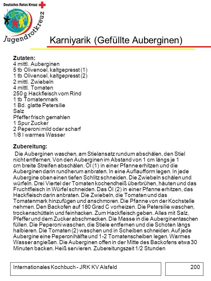Karniyarik (Gefüllte Auberginen)