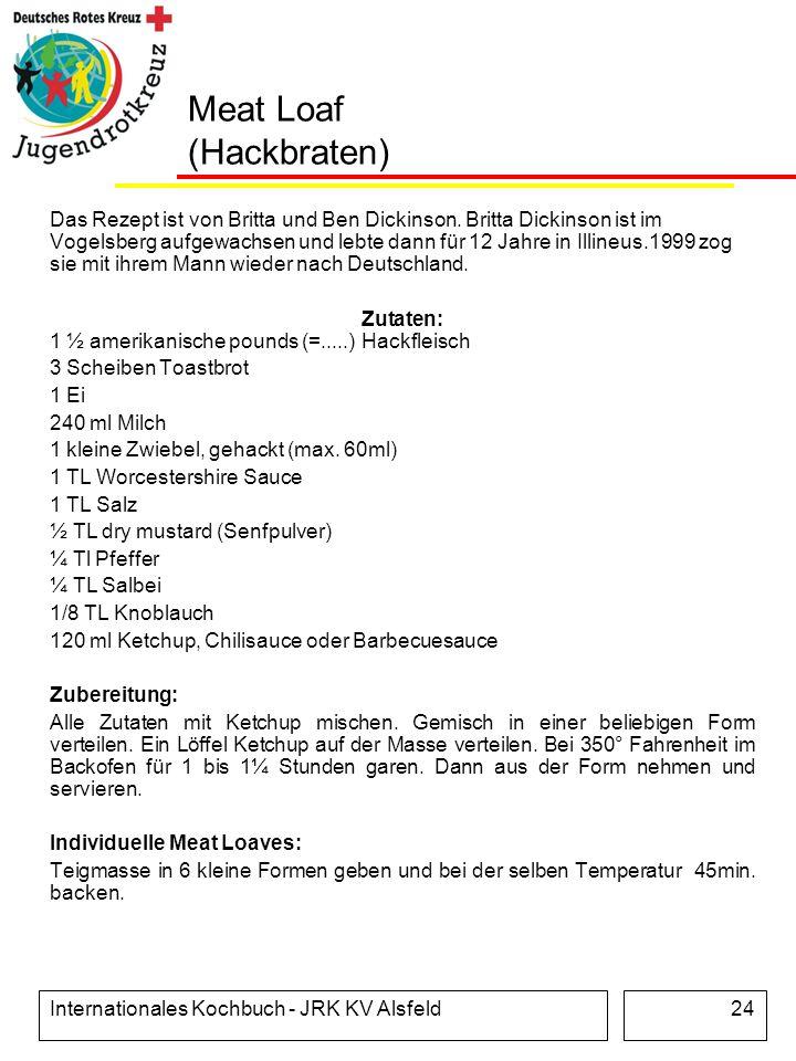 Meat Loaf (Hackbraten)