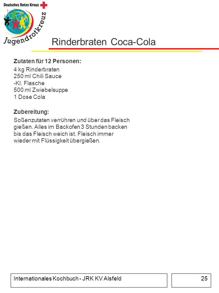 Rinderbraten Coca-Cola