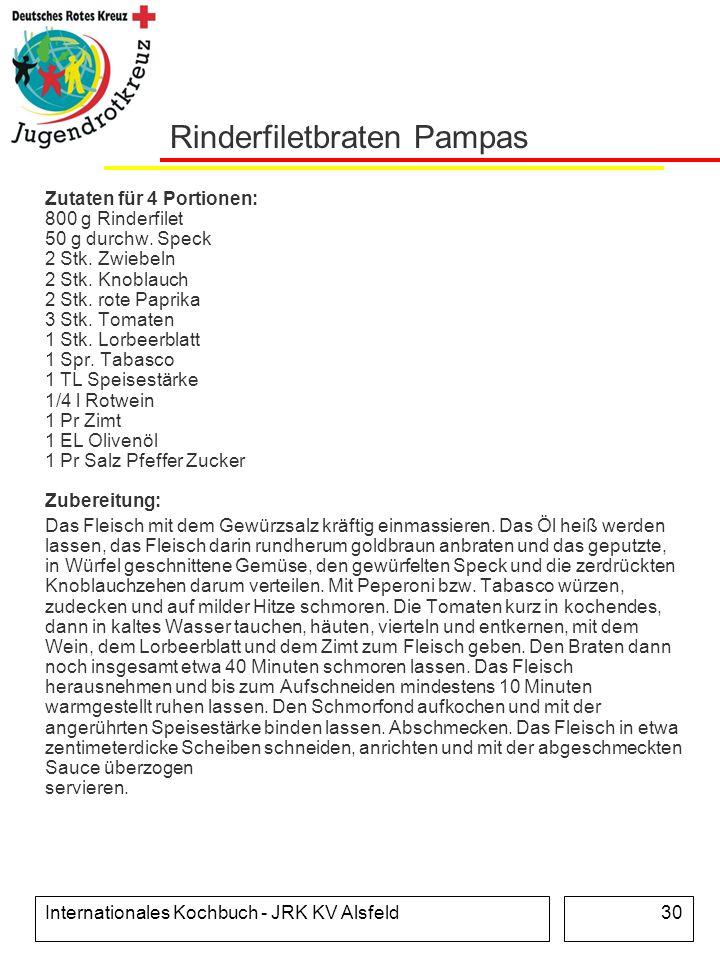Rinderfiletbraten Pampas