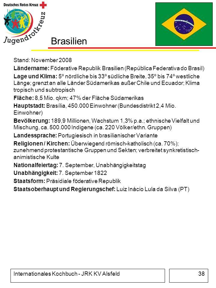Brasilien Stand: November 2008