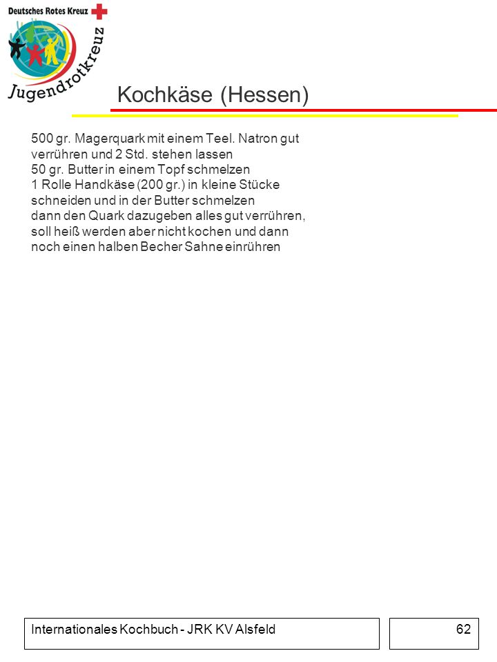 Kochkäse (Hessen)