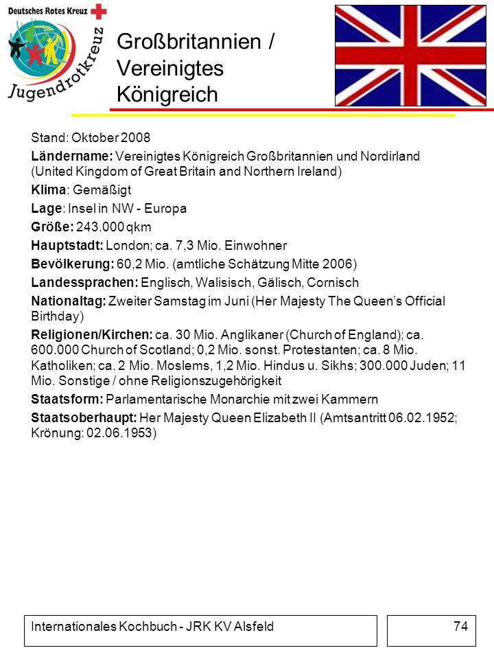 Großbritannien / Vereinigtes Königreich