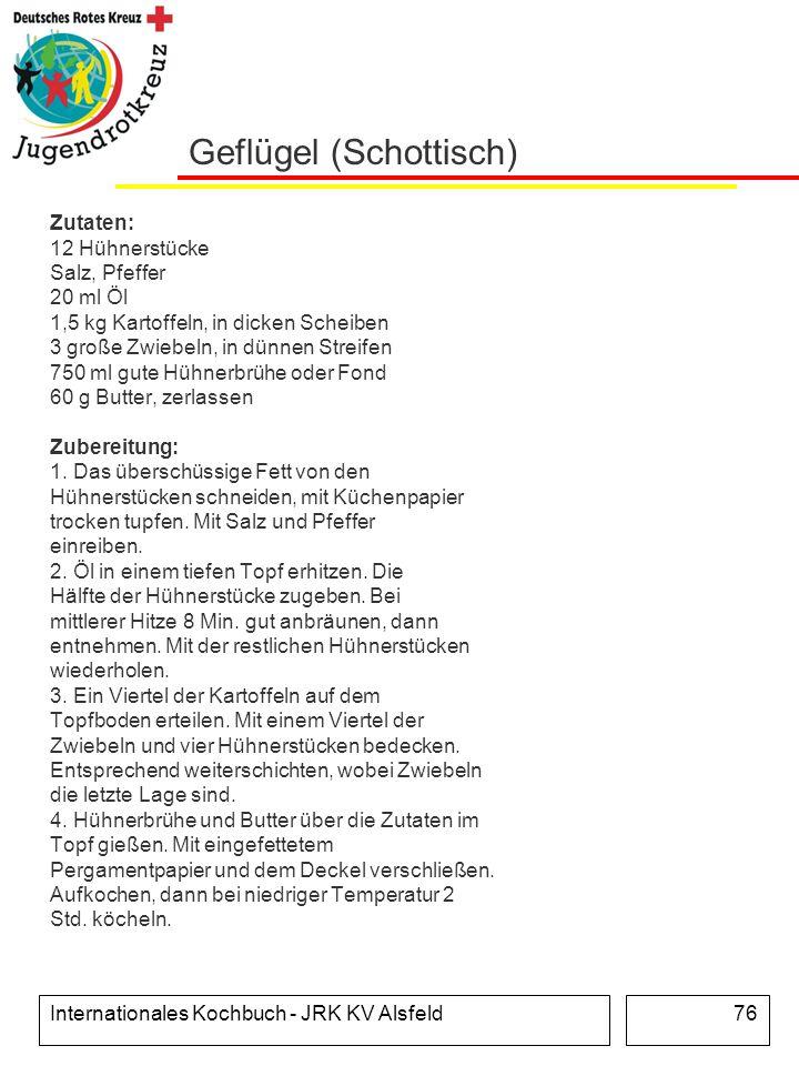 Geflügel (Schottisch)