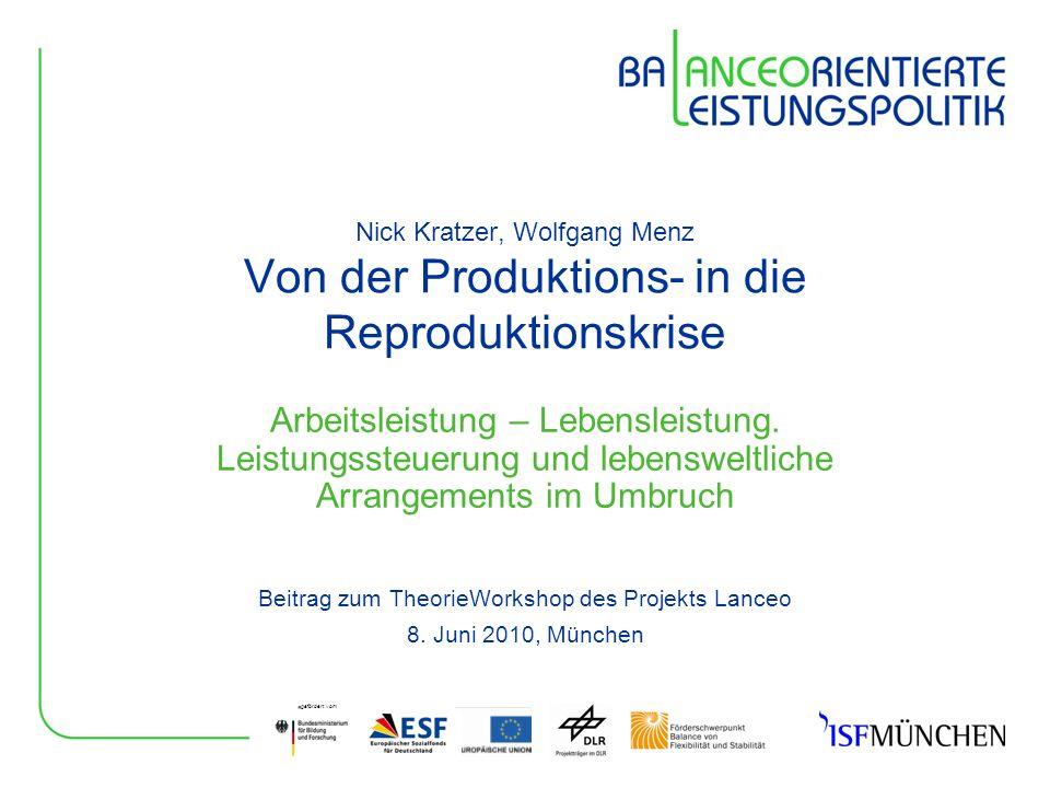 Beitrag zum TheorieWorkshop des Projekts Lanceo