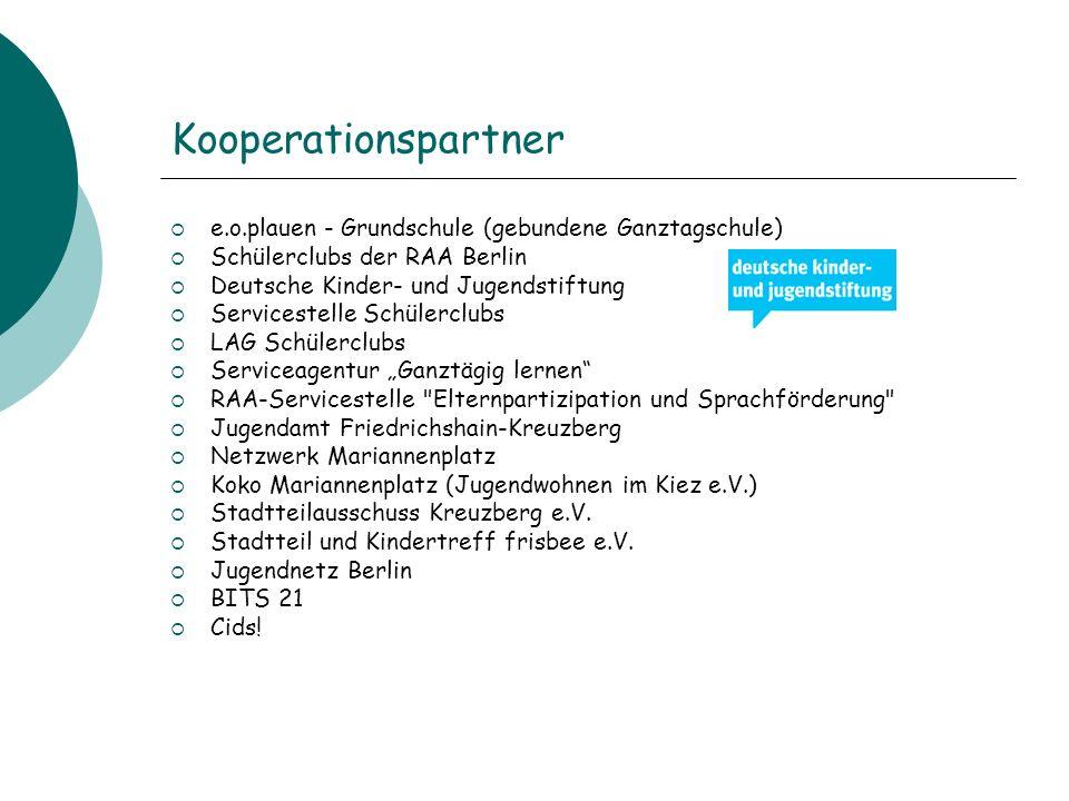 Kooperationspartner e.o.plauen - Grundschule (gebundene Ganztagschule)