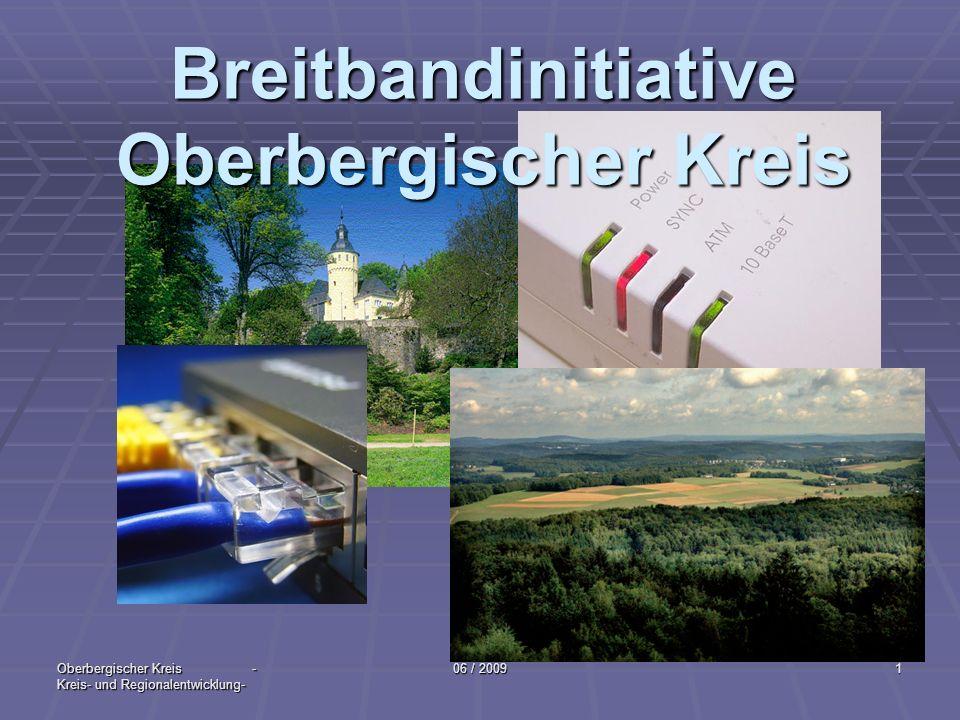 Breitbandinitiative Oberbergischer Kreis