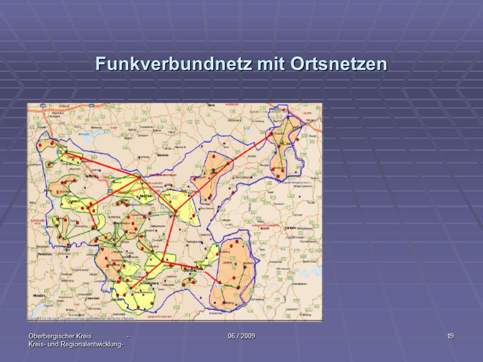 Funkverbundnetz mit Ortsnetzen