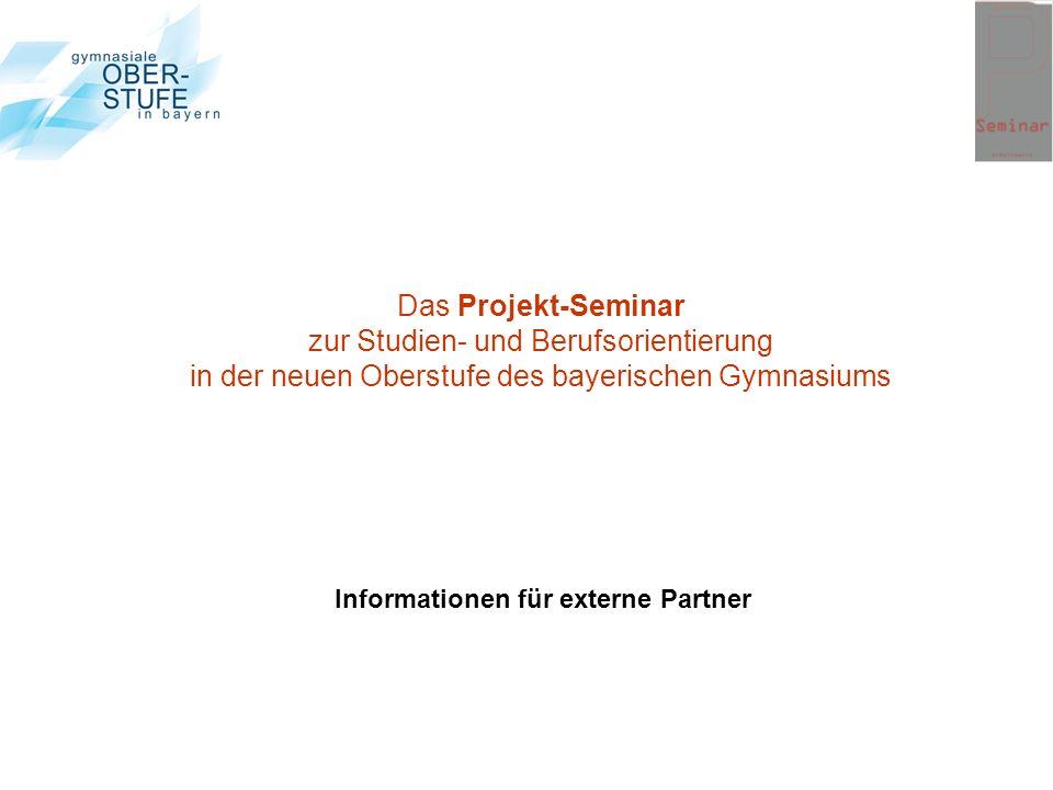 Informationen für externe Partner