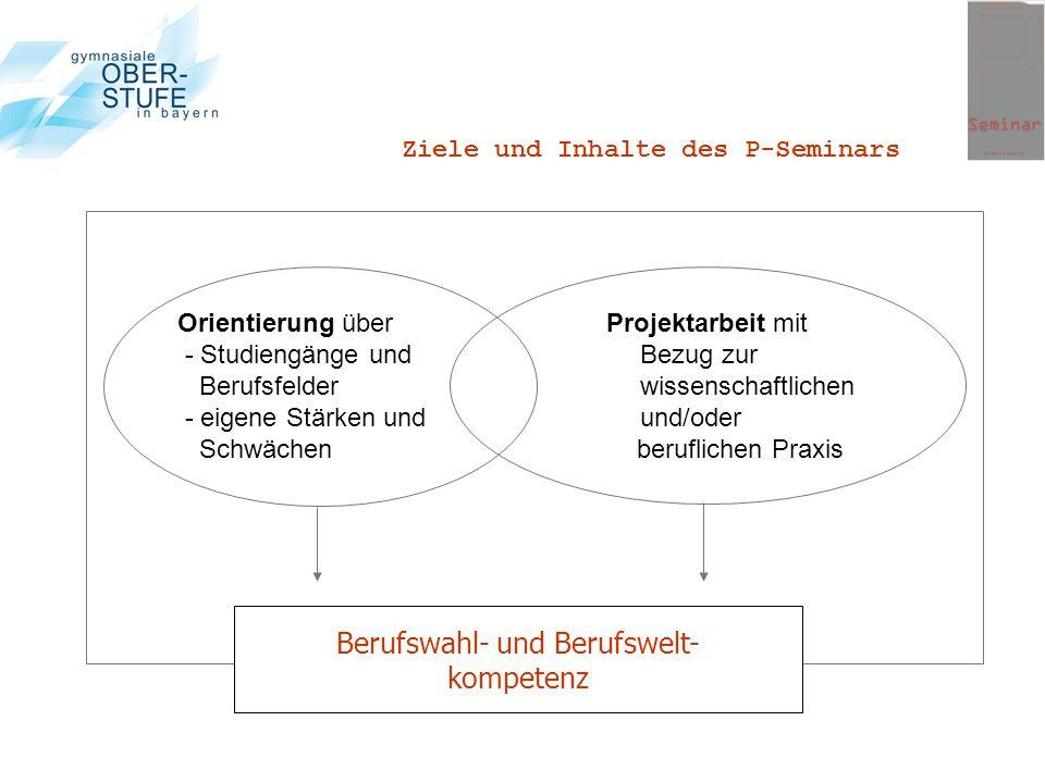 Berufswahl- und Berufswelt-