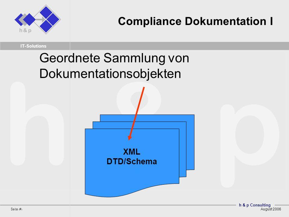 Compliance Dokumentation I