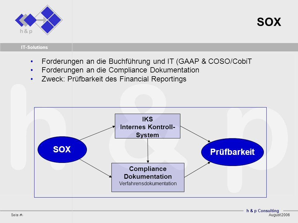 IKS Internes Kontroll-System Compliance Dokumentation