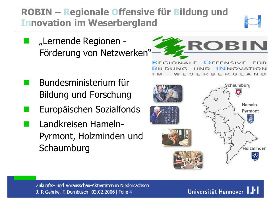 ROBIN – Regionale Offensive für Bildung und Innovation im Weserbergland