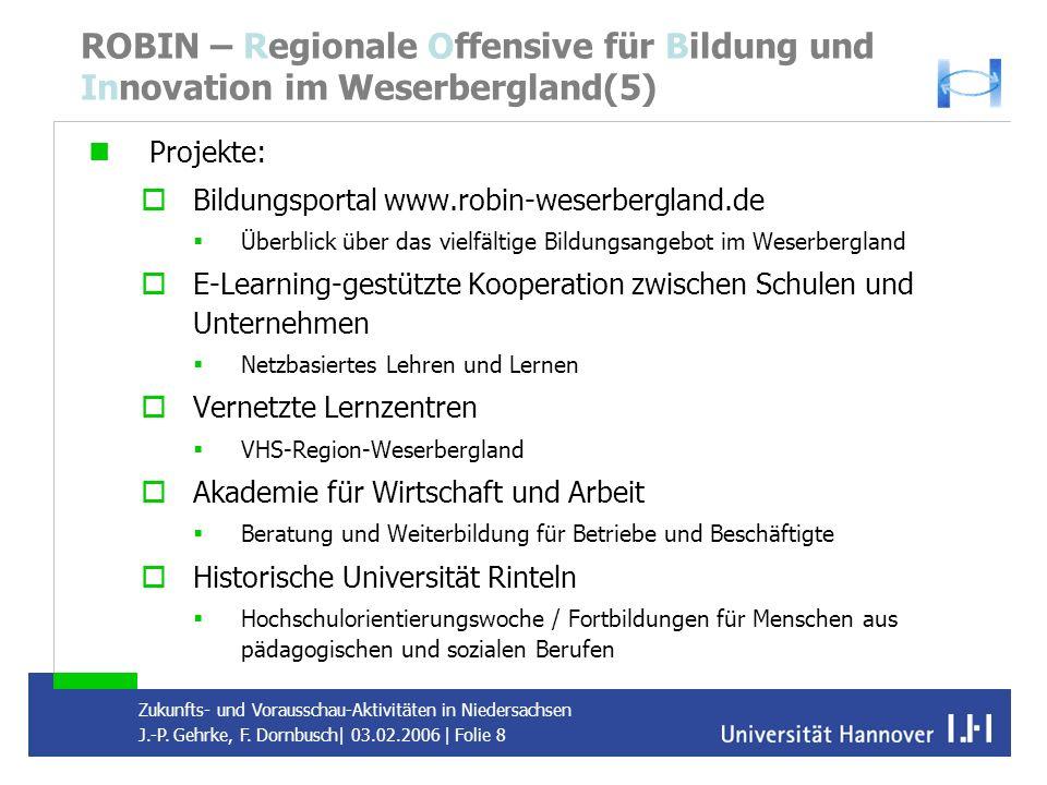 ROBIN – Regionale Offensive für Bildung und Innovation im Weserbergland(5)