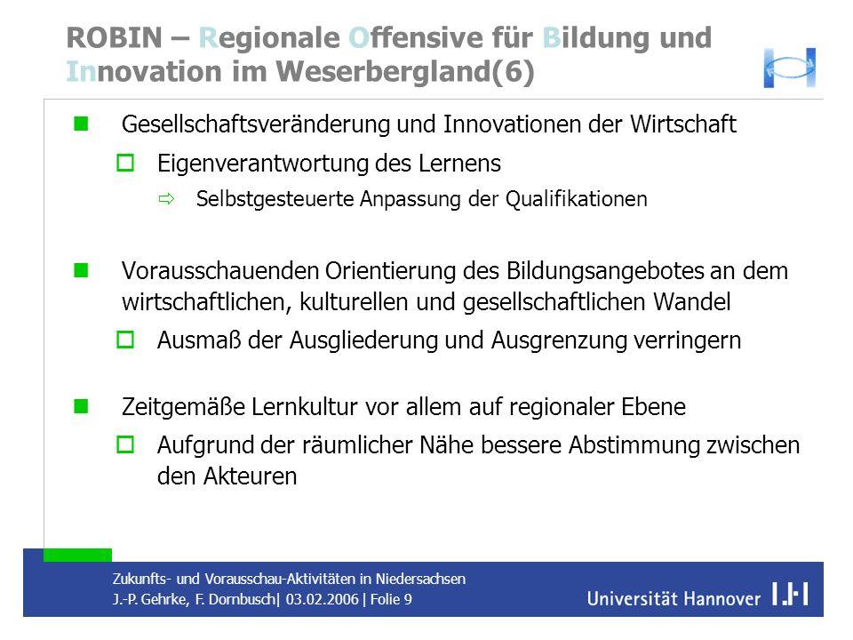 ROBIN – Regionale Offensive für Bildung und Innovation im Weserbergland(6)