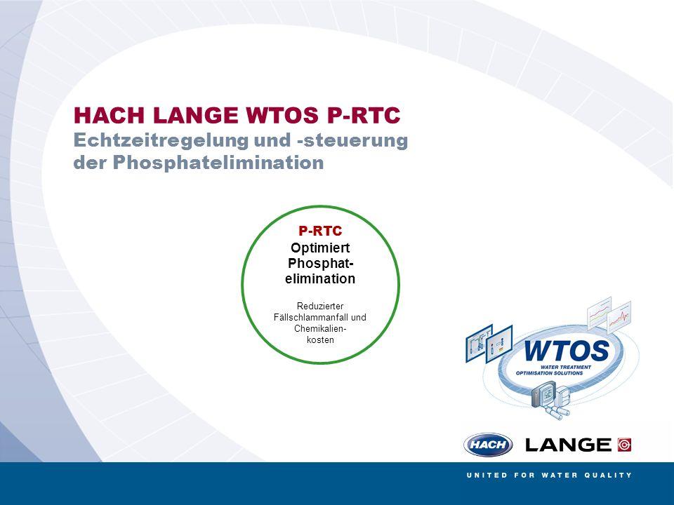 HACH LANGE WTOS P-RTC Echtzeitregelung und -steuerung der Phosphatelimination