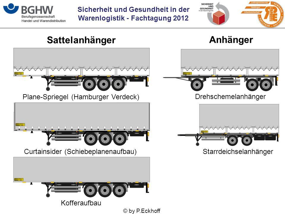 Sattelanhänger Anhänger Plane-Spriegel (Hamburger Verdeck)