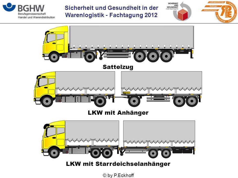 LKW mit Starrdeichselanhänger
