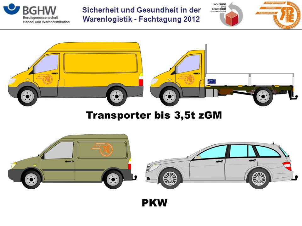 Transporter bis 3,5t zGM PKW