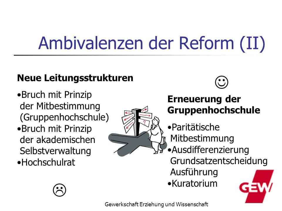 Ambivalenzen der Reform (II)