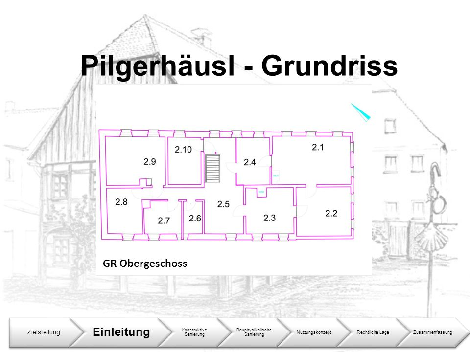 Pilgerhäusl - Grundriss