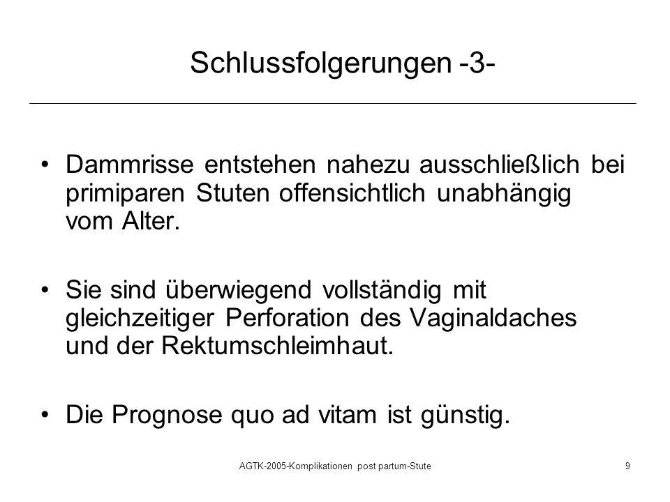 Schlussfolgerungen -3-
