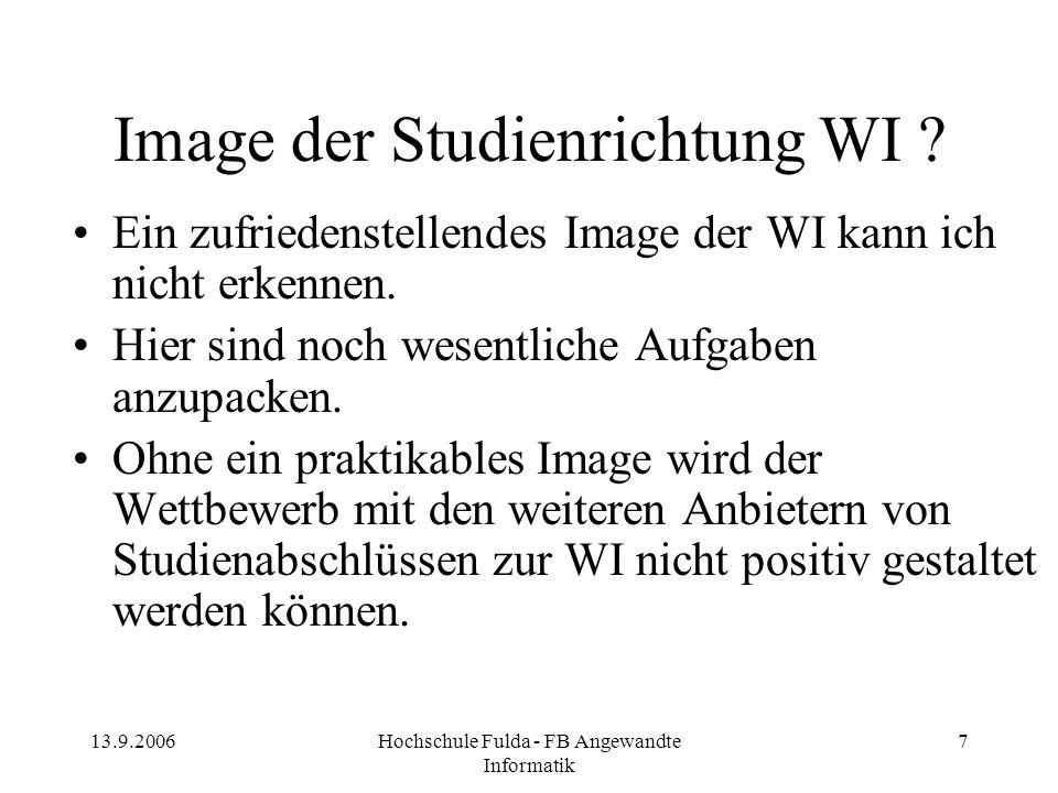 Image der Studienrichtung WI