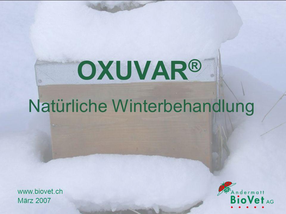 OXUVAR® Natürliche Winterbehandlung