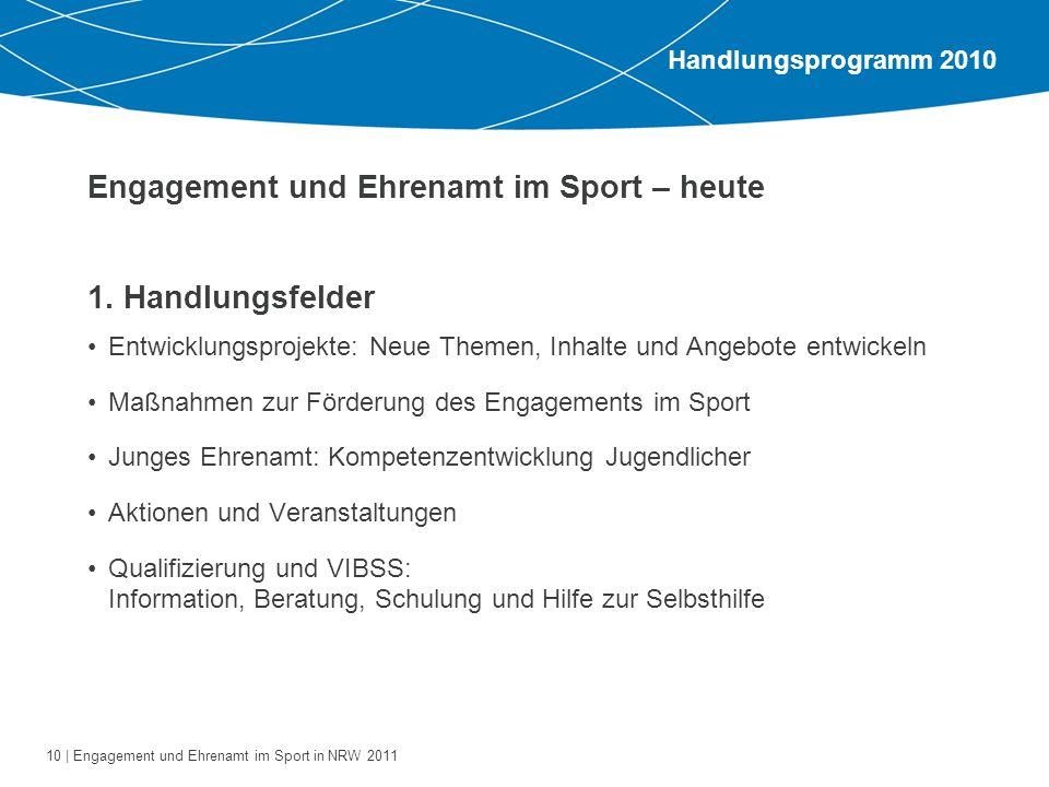 Engagement und Ehrenamt im Sport – heute