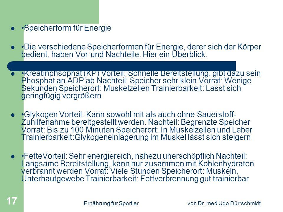 von Dr. med Udo Dürrschmidt