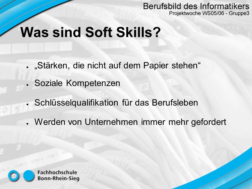 """Was sind Soft Skills """"Stärken, die nicht auf dem Papier stehen"""
