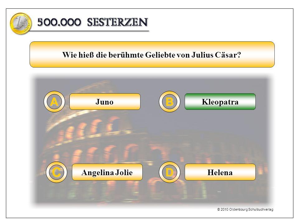 Wie hieß die berühmte Geliebte von Julius Cäsar