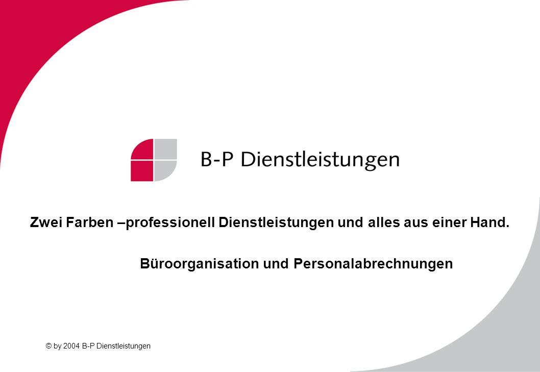 Zwei Farben –professionell Dienstleistungen und alles aus einer Hand.