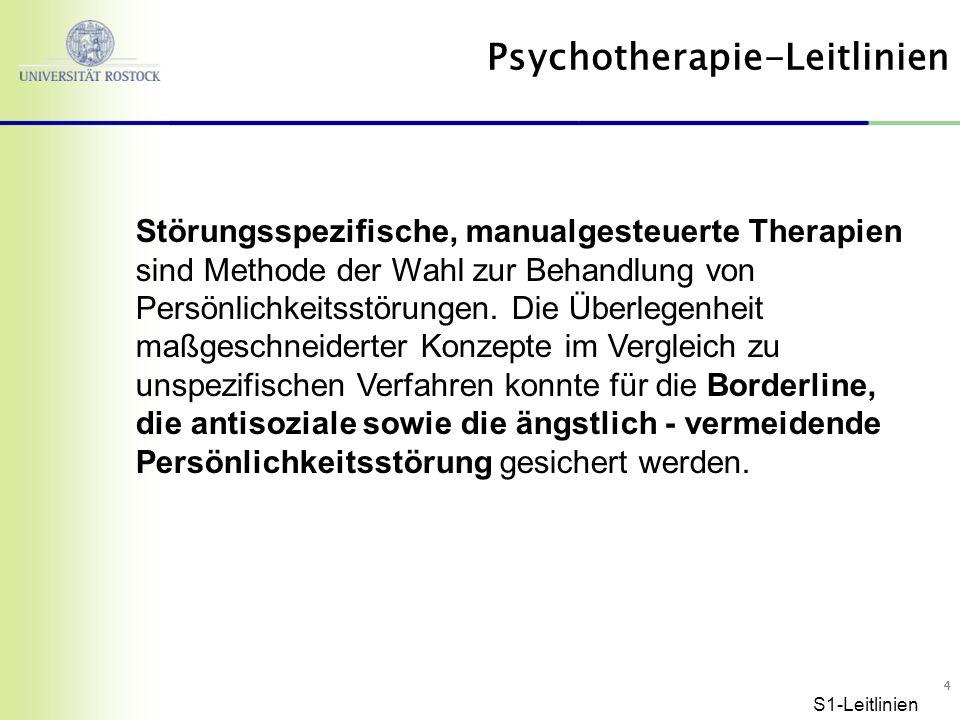Psychotherapie-Leitlinien