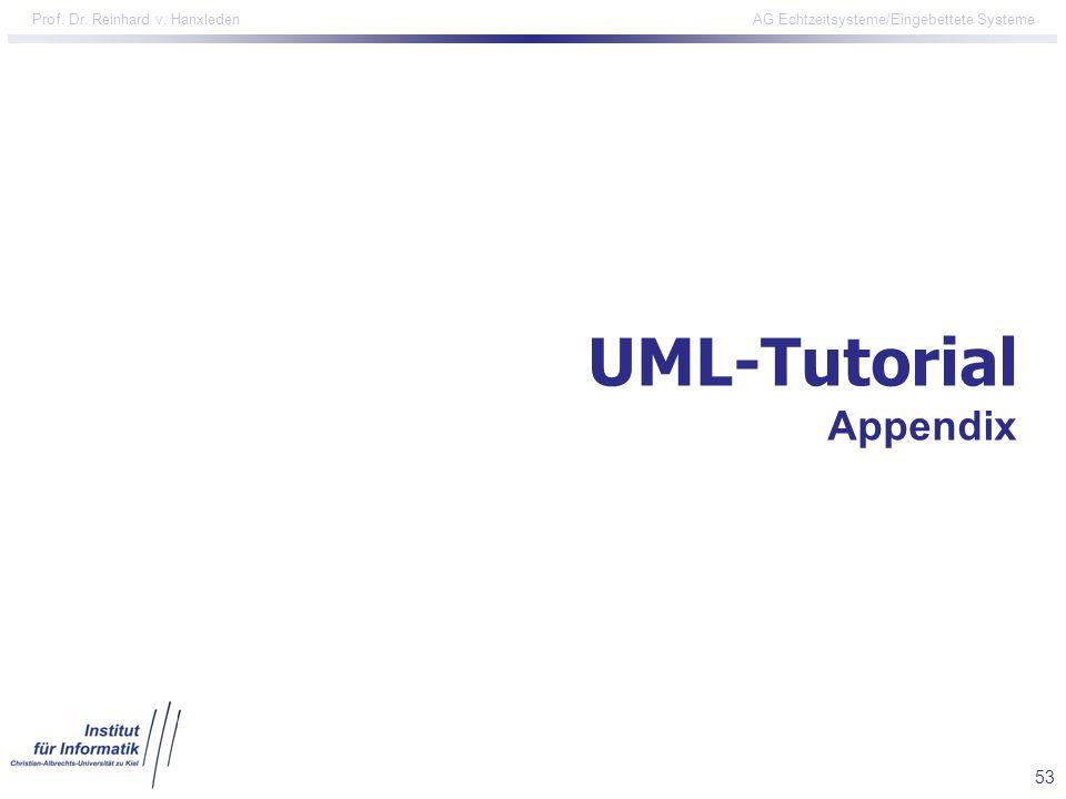 UML-Tutorial Appendix