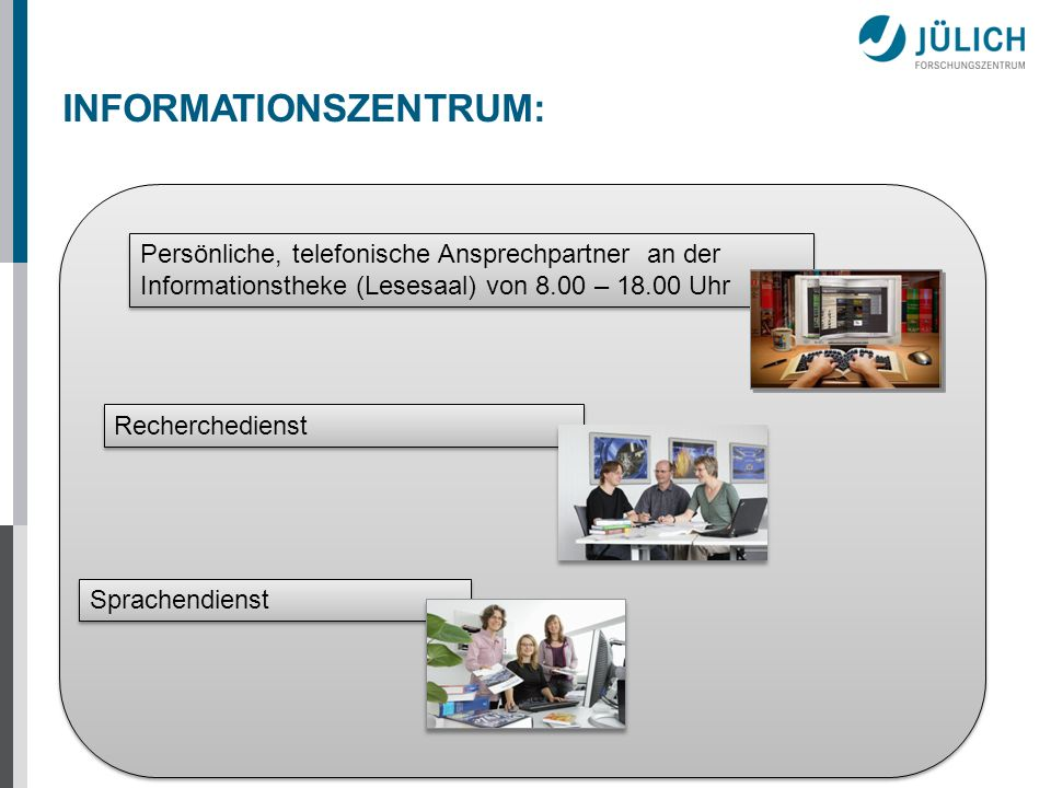 INFORMATIONSZENTRUM: